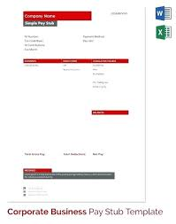 Paystub Excel Template Excel Paycheck Template Blank Pay Stub Template For Ms Excel Excel