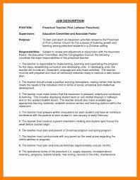 Job Description For Substitute Teacher For Resume Substitue Teacher Resume RESUME 51
