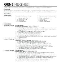 Sample Resume Objective For Janitorial Position. Janitorial Job ...