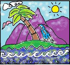 Small Picture Free Adult Child Coloring Book Meditation Page Paradise Island