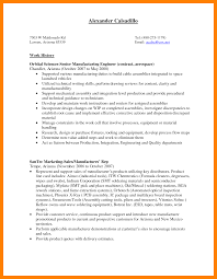 Production Worker Resume Samples Resume For Study