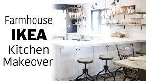 White Ikea Kitchen Tour Room Makeover Modern Farmhouse