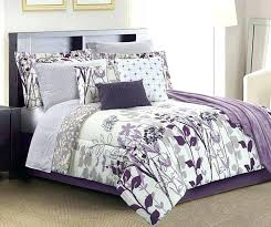 gray and purple bedding purple comforter sets fl gray ce queen set at big lots