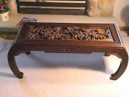 antique chinese hand carved coffee table excellent condition