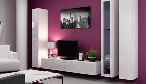 apartment decoration living cabinet wall decor sets units furniture pieces pictu colors combination design display lights