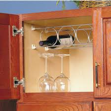 Amazing Stemware Wine Racks Mount Underneath Inside Or On The Side Inside Cabinet  Wine Rack Insert ...