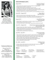 Student Cv Examples Interior Design Student Cv Resume Samples Student Examples Format
