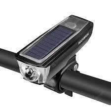 <b>ROCKBROS</b> HJ - 052 Outdoor USB Charging Solar <b>Bike Front Light</b> ...