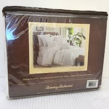 tommy bahama tropical hideaway white twin duvet embroidered palm trees