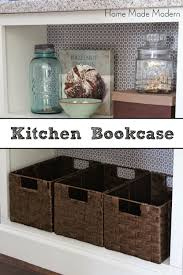 Kitchen Bookcase Kitchen Island With Bookcase Home Made Modern
