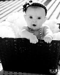 Pin by Ashley Strey on black and pink   Baby girl photos, Cute baby  pictures, Baby photography
