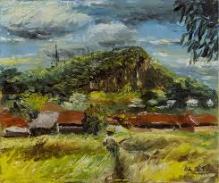 ancon hill by al sprague this is a very early piece of al sprague s
