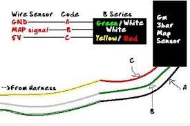 wiring diagram map sensor honda manifold absolute pressure sensor 4 wire map sensor at Map Sensor Wiring Diagram