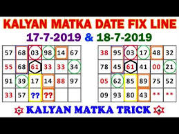 Kalyan Night Chart Kalyan Matka Jodi Trick Satta Matka Matka Satta Trick In