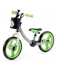 <b>Беговел Kinderkraft</b> 2WAY NEXT Green/Grey с аксессуарами ...