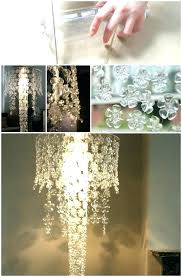 diy yarn chandelier chandeliers how to make diy yarn chandelier