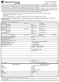 annual financial statement template financial statement template word