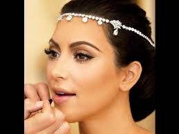 kim kardashian wedding makeup tutorial