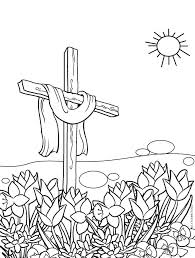 Cross Coloring Pages Free Printable Christian Sheets To Print