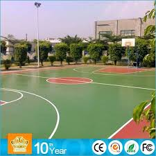 crown tennis basketball court whole acrylic paint outdoor line