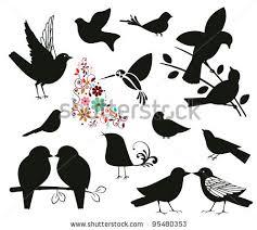 two love bird silhouette. Unique Silhouette To Two Love Bird Silhouette