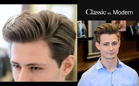 Diffrent Hair Style mens hair classic vs modern 2 different haircuts & hairstyle 5933 by wearticles.com