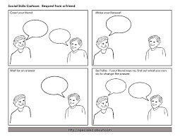 understanding social exchange theory cartoon strip interactions to help social skills