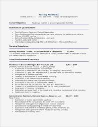Sample Nursing Student Resume Sample Nursing Student Resume Luxury Nursing Student Resume with No 38