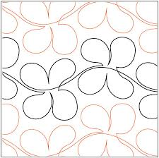 Freehand Flowers quilting pantograph pattern by Lorien Quilting & Freehand-Flowers-quilting-pantograph-pattern-Lorien-Quilting ... Adamdwight.com