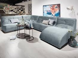 Domo Collection Samt Wohnlandschaft Mit Relaxelement In