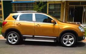 <b>Хромированные молдинги</b> окон дверей на Nissan Qashqai с ...