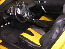 nissan 350z modified interior. nissan 350z yellow and black interior custom modified