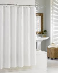 ... Wonderful White Shower Curtains White Fabric Shower Curtain White  Curtain Floor: white shower ...