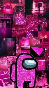 Aesthetic Among Us Wallpaper Pink : We ...