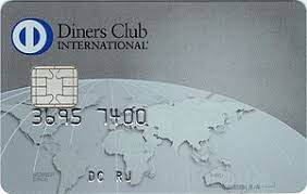 diners club card issued in an 2016