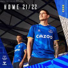 Everton 21-22 Heim & Torwart Trikots veröffentlicht - Nur Fussball