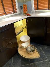 Corner Kitchen Cabinet Solutions 5 Solutions For Your Kitchen Corner Cabinet Storage Needs