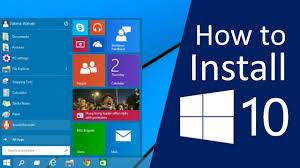 How To Install Windows 10 On Your Pc Youtube