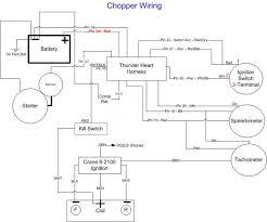 chopper wiring harness solidfonts yamaha xs650 wiring schematic chopper