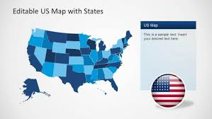 Us Map Editable In Powerpoint Best Editable Usa Map Designs For Microsoft Powerpoint