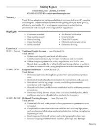 Objective For Truck Driver Resume Template Blank Cdl Truck Driver Resume Astounding Driving Cover 16