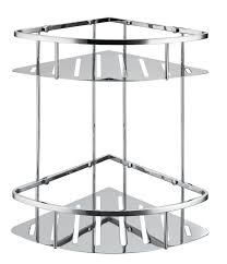 stainless steel corner shower caddy.  Corner Free Shipping 304 Stainless Steel New Triangle Double Shower Caddy Brushed  Nickel Double Corner Basket Storage SUS017in Bathroom Shelves From Home  And Corner R