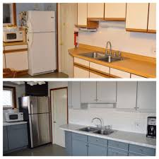 how update kitchen cabinets without painting adding molding flat cabinet doors door makeover updating budget old