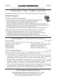 sample investigator resume private investigator resume aml investigator  sample resume
