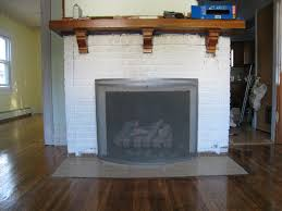 painted white brick fireplaceHow To Paint Red Brick  merrypad