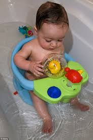pas are being warned about the dangers of baby bath seats widely available on the