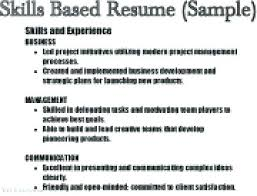Transferable Skills Example Resumes Example Skills For Resume Job Skills For Resume List Of