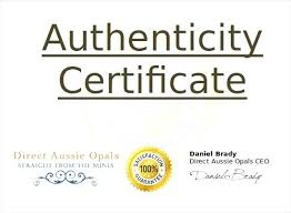 Printable Certificate Of Authenticity Stunning Art Example Best ...