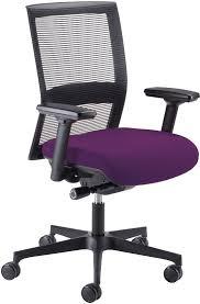 purple office chair. Mesh Back Purple Office Chair Z