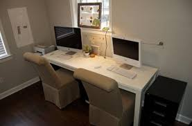 two person desk home office. Fresh Inspiration 2 Person Desk Home Office Impressive Design For Awesome House Remodel Two